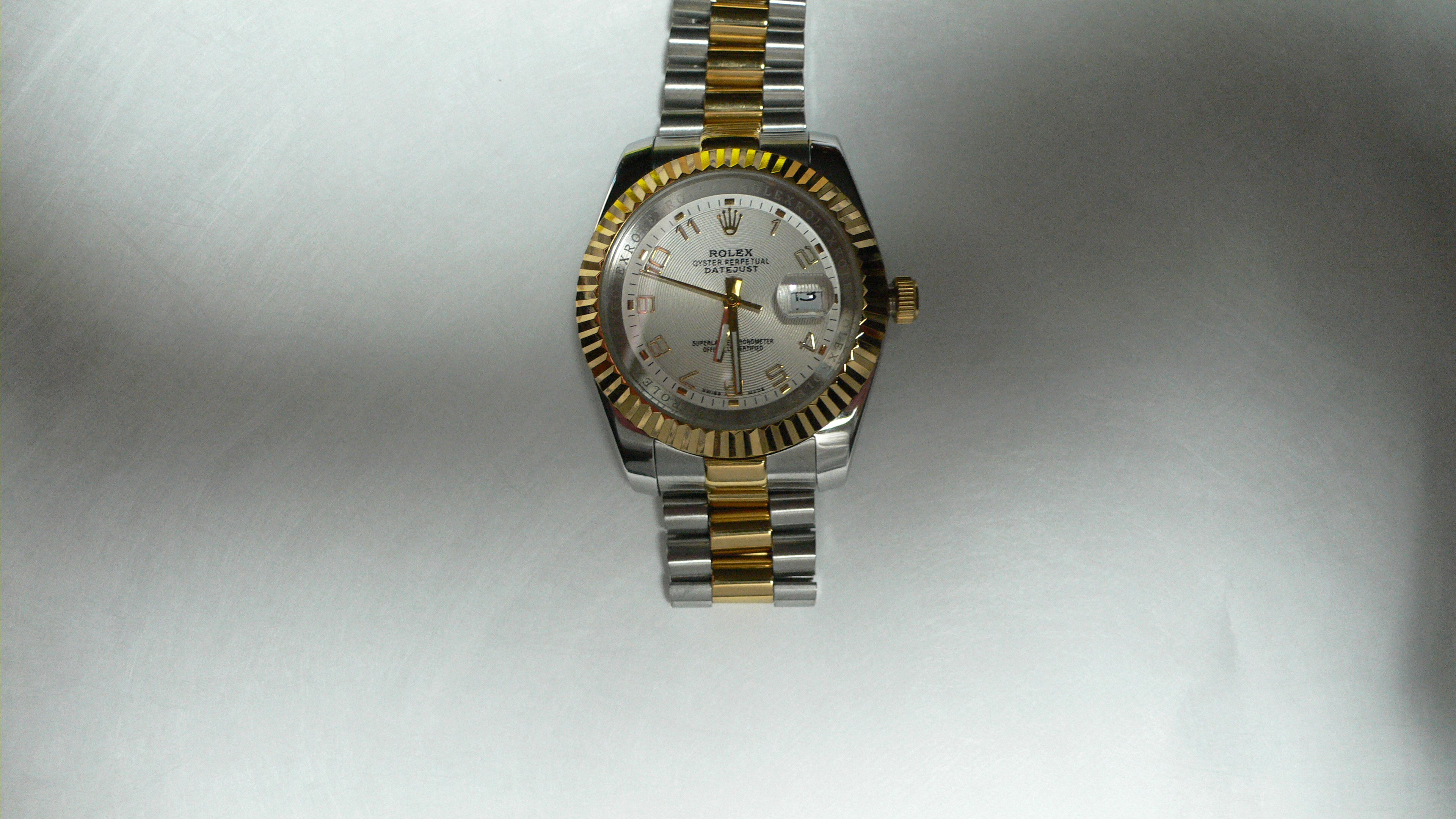 leopard diamond rolex gold daytona beckertime used authentic watches sku buy yellow mens real
