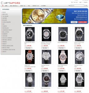 write watches china