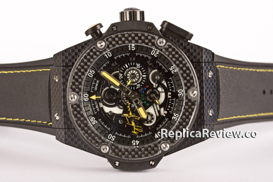 Replica hublot king power ayrton senna 1