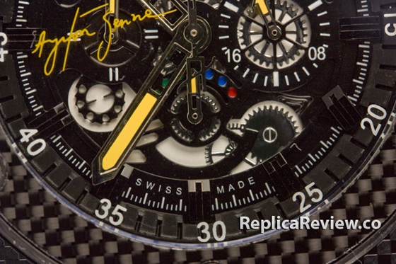 Replica hublot king power ayrton senna 13
