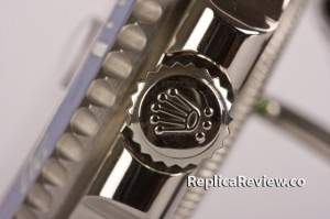 triple lock crown on rolex replica