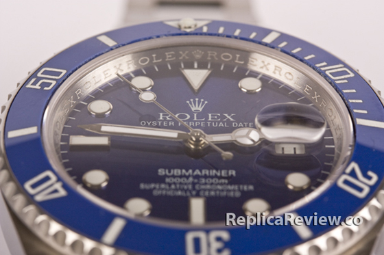 Rolex Submariner Blue Dial 4