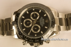 Black Rolex Daytona Replica