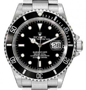 authentic Rolex Submariner