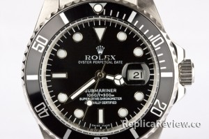 fake Rolex Submariner black dial