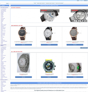 imitation watches online store