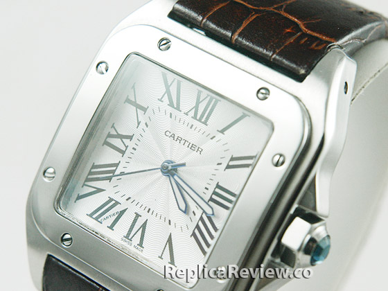 Replica Cartier Santos XL Dial