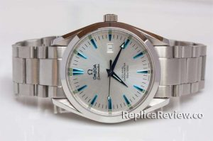 grey dial Omega replica watch