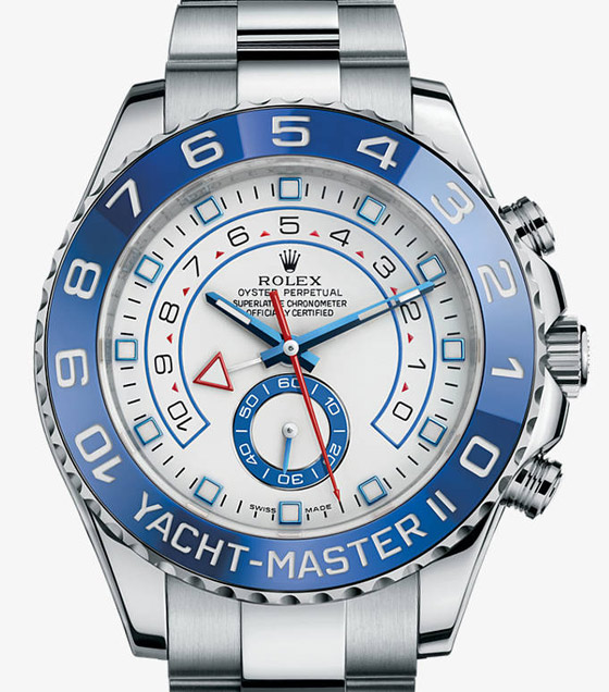 blue bezel yahctmaster watch