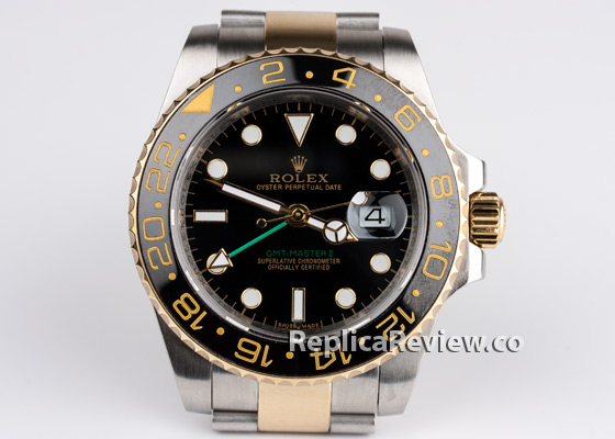 fake Rolex GMT Master II dial