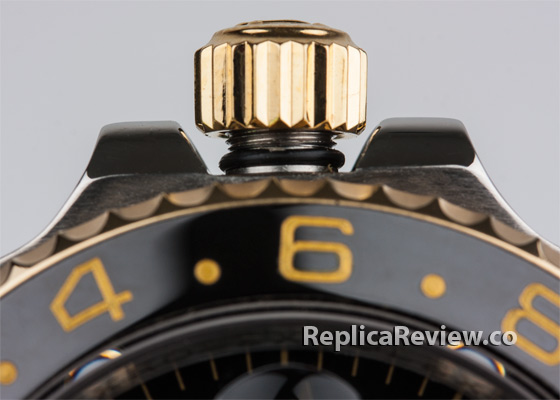 fake Rolex winding crown with o-ring