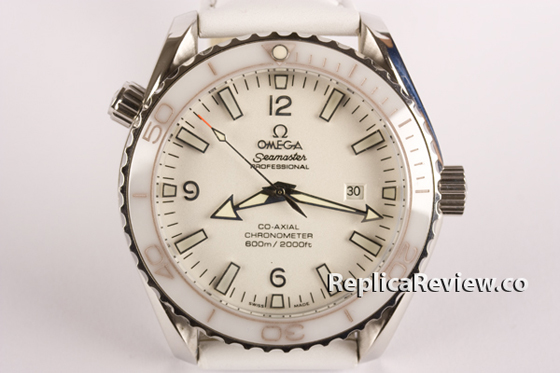 Fake Ceramic Omega Seamaster White 1