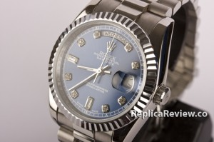 blue dial datejust replica