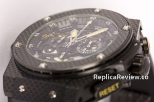 knockoff Hublot King Power Ayrton Senna watch