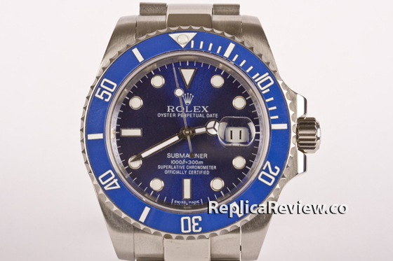 Rolex Submariner Blue Dial 1