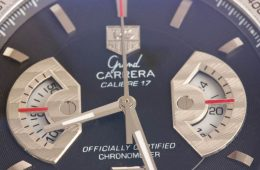 Black TAG Heuer Carrera replica watch Calibre 17