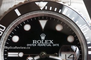 Replica Submariner dial and ceramic bezel