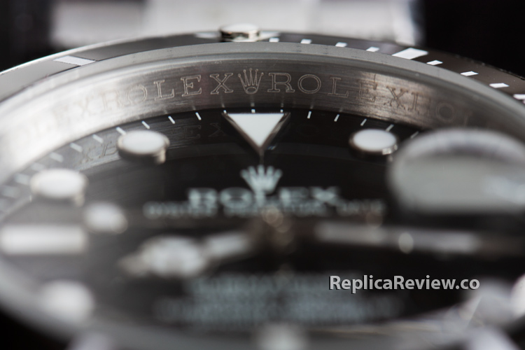 inner bezel with rolex engravings
