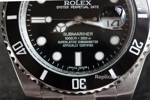Rolex imitation watch dial markings