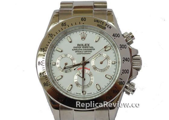 White Dial Daytona Replica 1