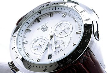 White dial Tag Heuer SLR Replica