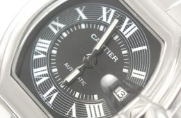 Fake Black Cartier Roaster stainless steel Watch