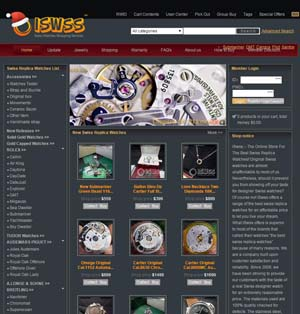 swiss replica watches store