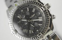Fake Breitling Windrider grey dial watch