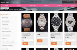 Tankwatch.co.uk store homepage