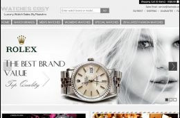Watchescosy.com homepage