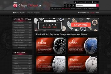 megawatch store homepage