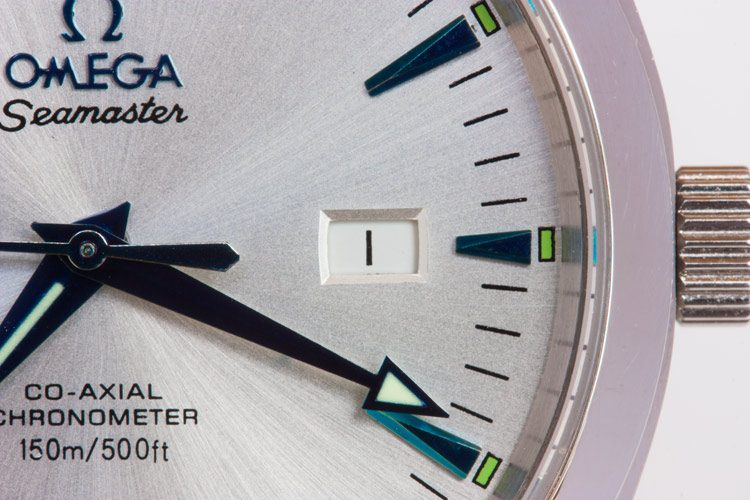 Silver dial Omega imitation watch