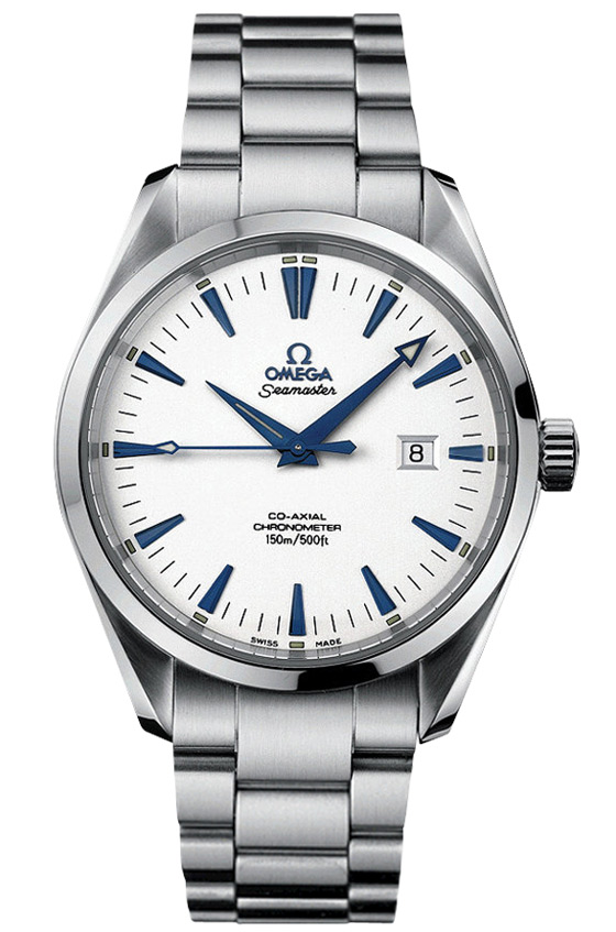 Authentic 2503.33.00 Omega model with steinless steel band