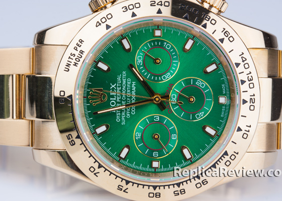 Green Daytona Replica Dial