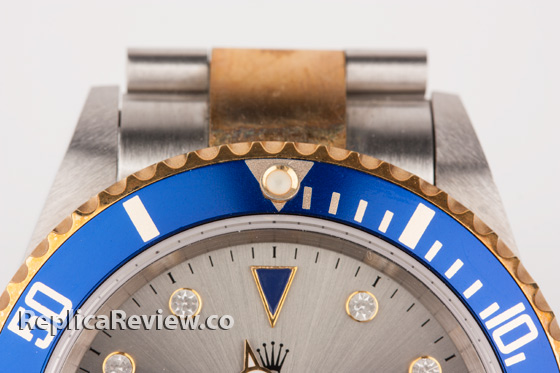 Rolex Submariner Replica close up shot