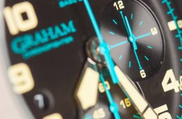 Graham Chronofighter 2CCAU.B09A replica watch with rubber band