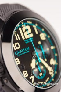 imitation graham watch close up