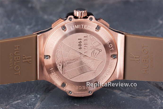 back hublot watch cover