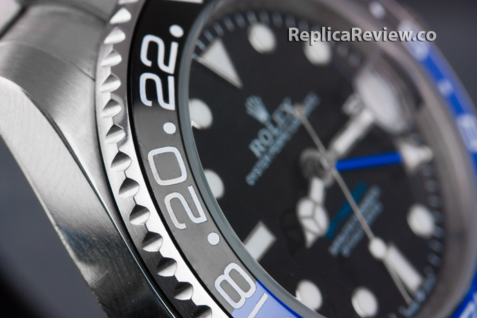 Fake GMT Master Watch with ceramic bezel
