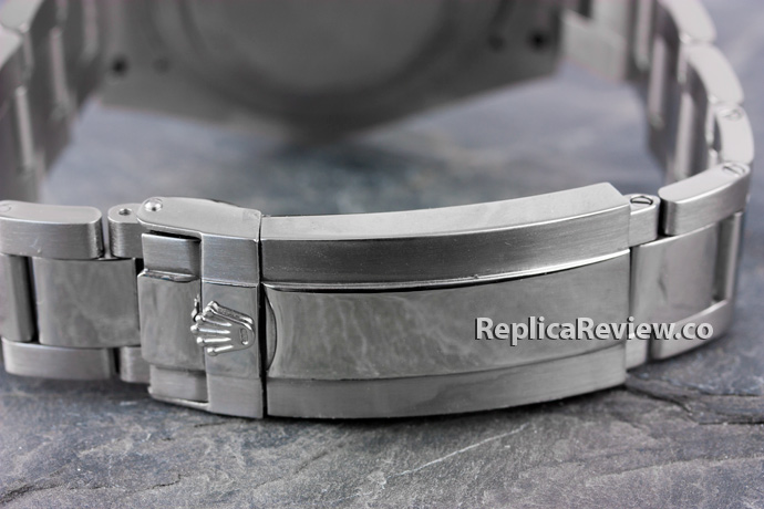 Rolex replica watch clasp