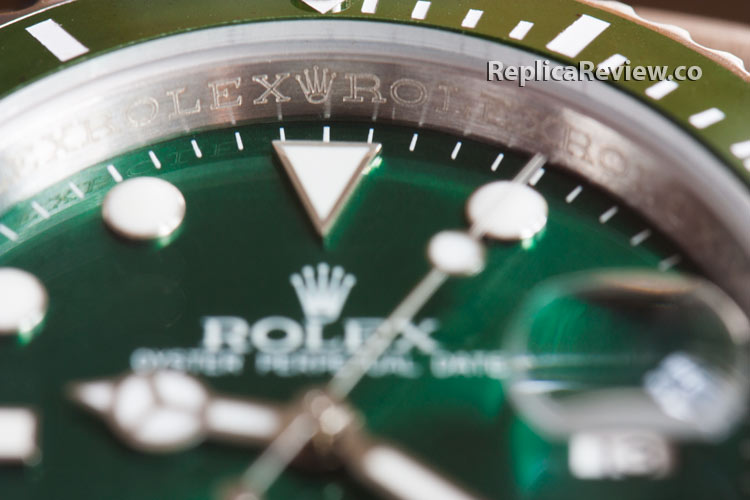 fake rolex submariner dial and inner bezel
