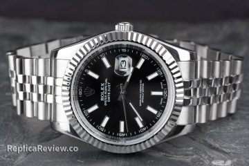 black rolex datejust watch imitation